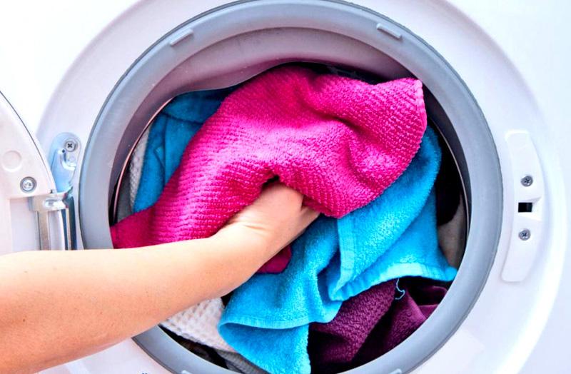 Не стирайте микрофибру с махровыми полотенцами