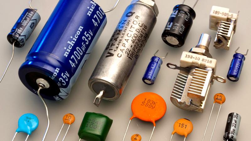 Многообразие видов конденсаторов