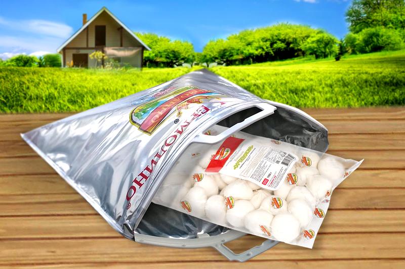 Для предотвращения разморозки отдельных продуктов можно использовать термопакеты