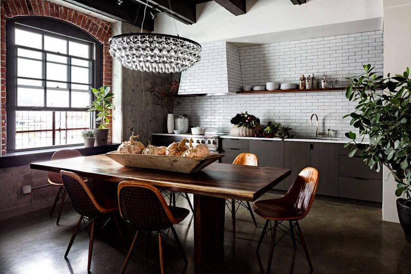 10 основных правил оформления кухни в стиле лофт