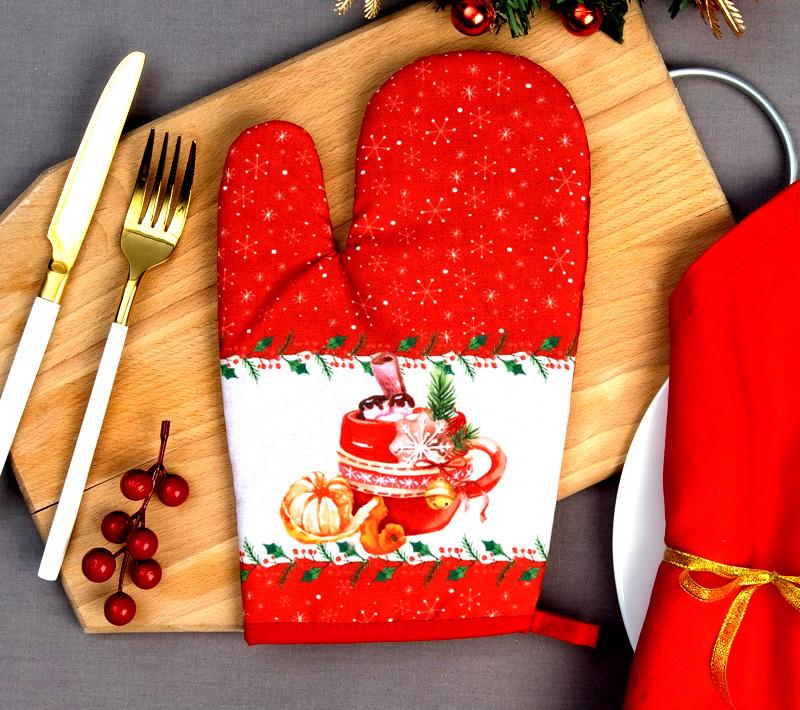 Рукавички никогда не выйдут из моды и сделают интерьер кухни уютным и домашним