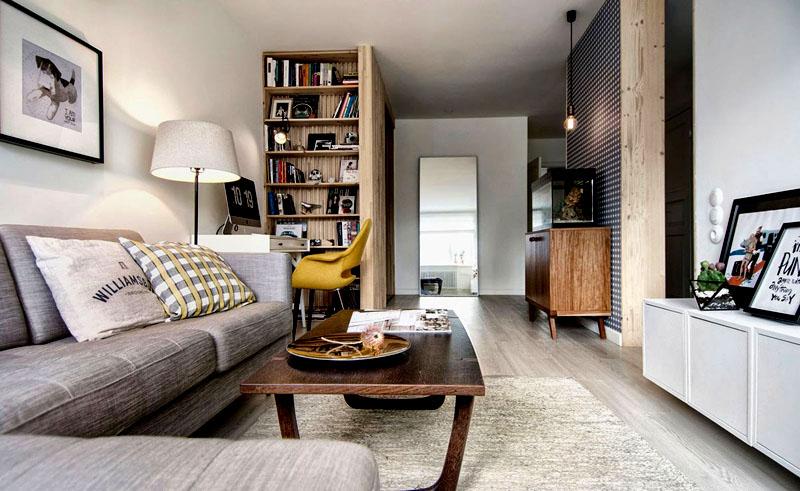 Минимализм – это не значит, что квартира должна быть пустая. Заполняйте полки теми вещами, которыми вы постоянно пользуетесь