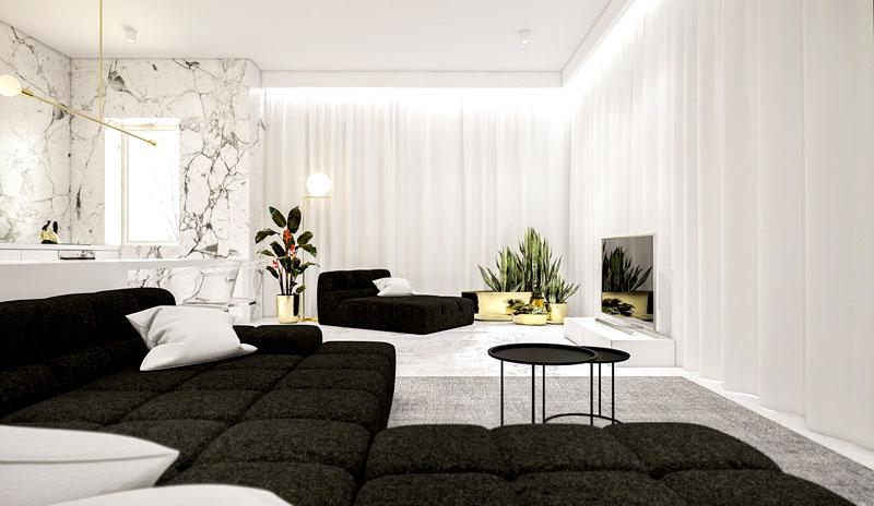 Гостиная – самая светлая комната в доме. В ней жильцы проводят больше всего времени, поэтому она должна быть просторной и удобной