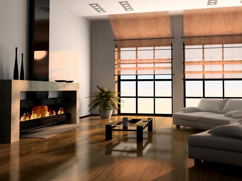 Идеальный вариант – большие решётчатые окна чёрного цвета