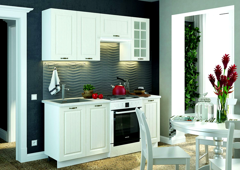 Кухни «Мария» выглядят шикарно, да и качество сборки на высоте