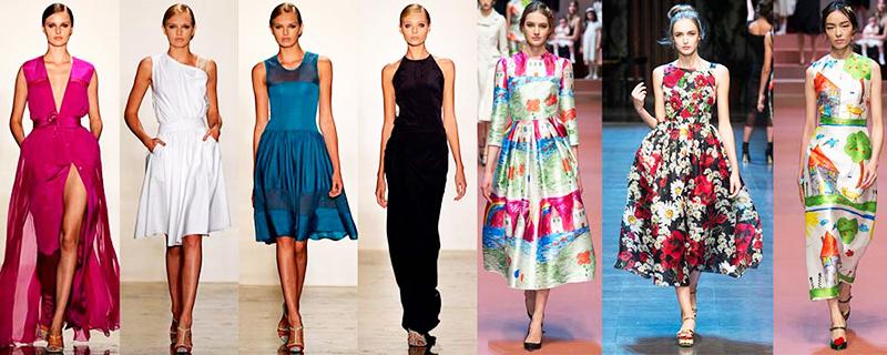 Ацетат хорошо используется для пошива моделей одежды к модным показам