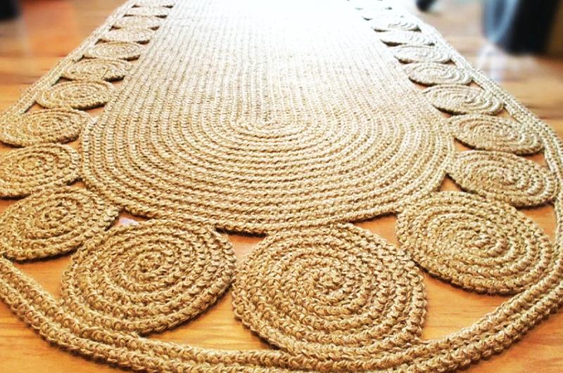 Такие коврики подойдут как к скандинавскому стилю, так и к кантри