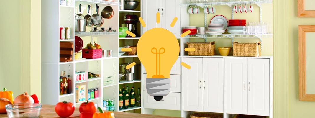 10 лайфхаков для порядка на кухне