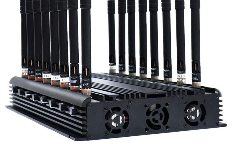 Мощные подавители способны отключить все сигналы, включая телевидение и радио