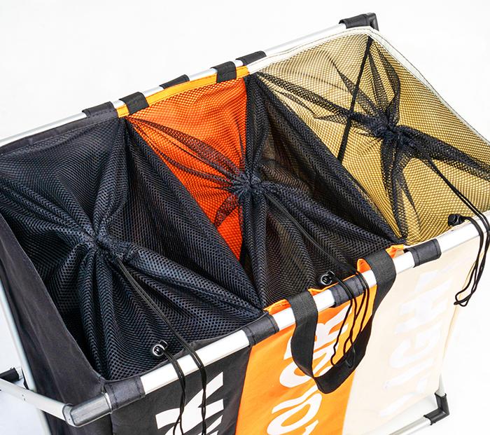 По мере наполнения корзины вы будете понимать, какой тип одежды нужно в первую очередь постирать