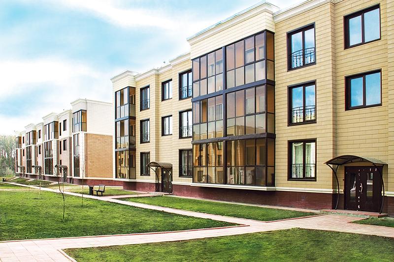 Большое преимущество микрорайона – возведение домов малой этажности