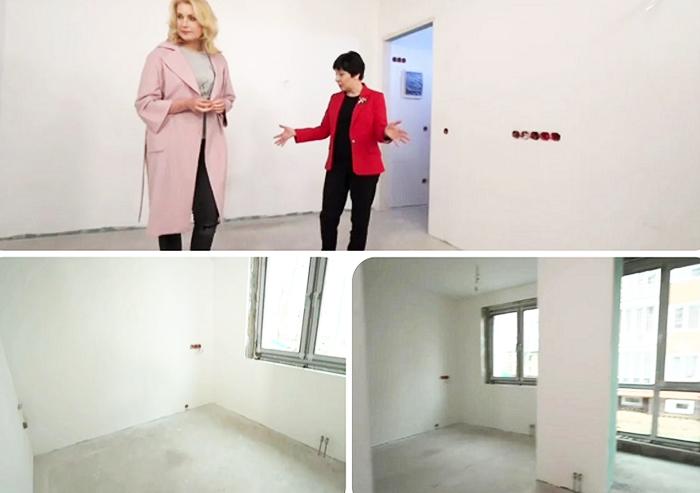 Планировка квартиры до ремонта