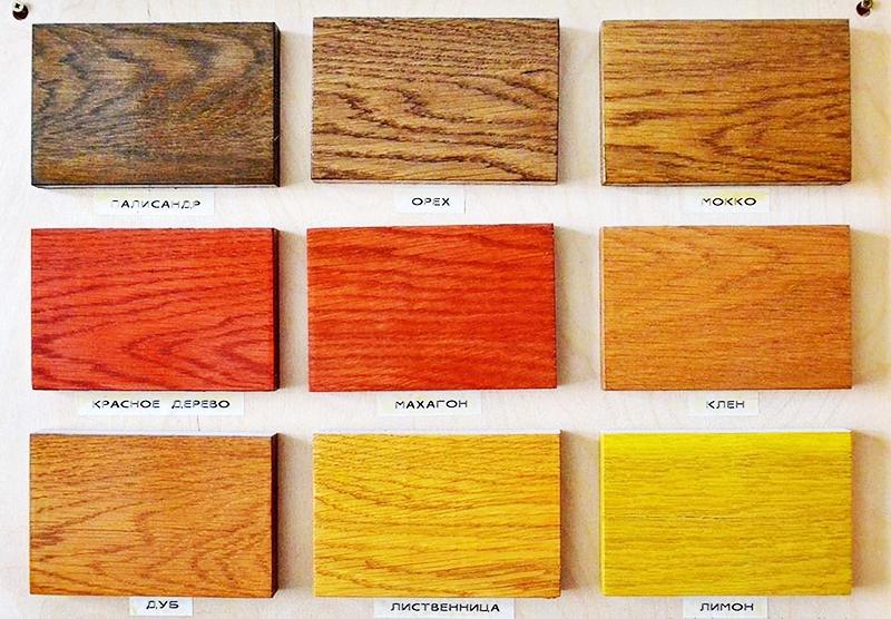 Преображение деревянных элементов декора с помощью морилки