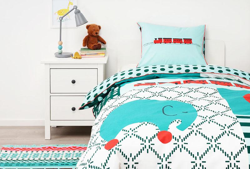 Пододеяльник снабжен застёжкой-молнией, что предотвратит выпадение вашего одеяла