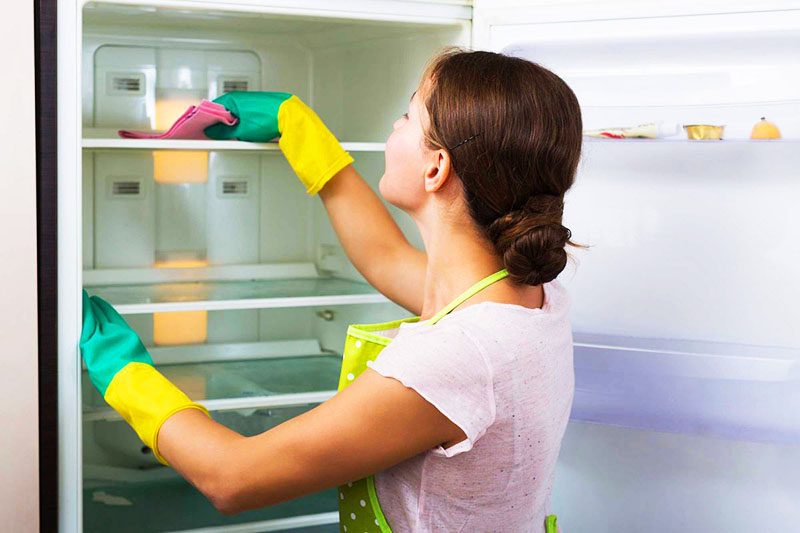 Средство актуально для холодильников, в том числе и нового образца