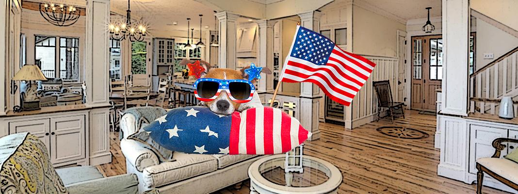 14 предметов в американских домах