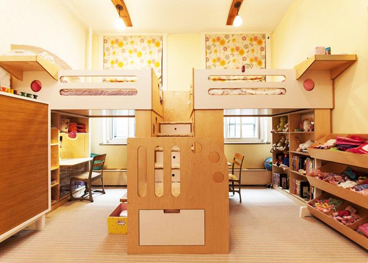 Разделённая комната для разнополых детей