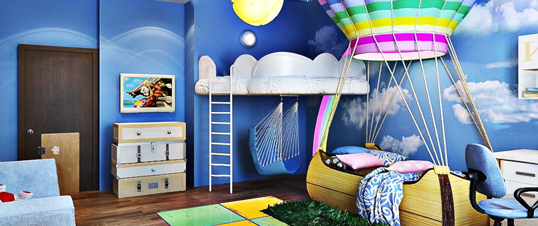 Детская комната: правила обустройства
