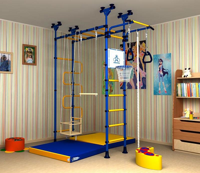 Физкультурный комплекс в детской комнате