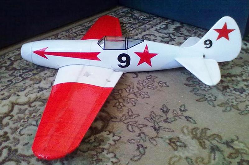 Готовая модель самолёта
