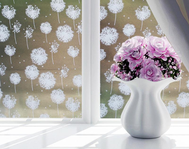 Вариант лёгкого тюля на окнах