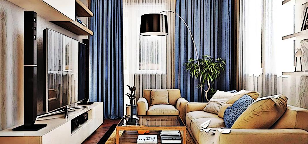 Как создать уют в маленькой гостиной