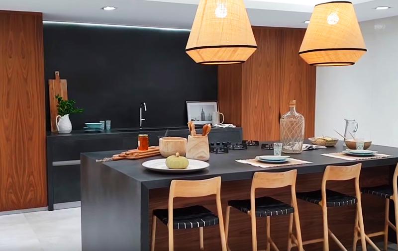 Вариант кухни-портала