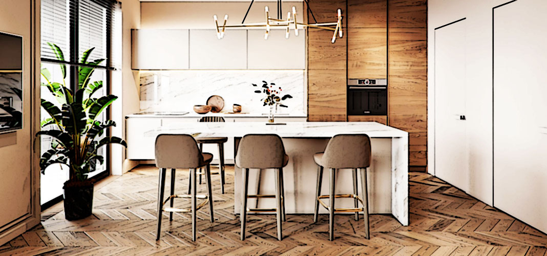 Крутые «фишки» дизайна кухни