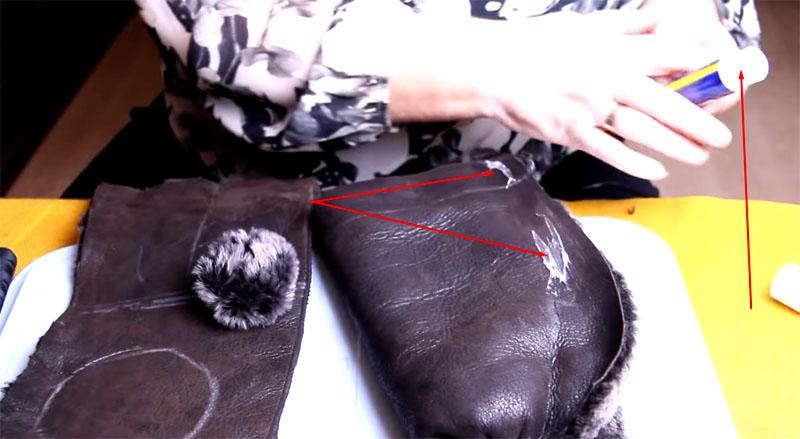 Карандашный клей поможет зафиксировать материал в нужном положении