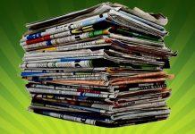 необычные идеи использования старых газет