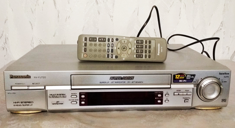 Оцифровка старых видеокассет