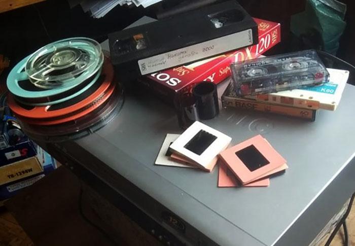 Носители видеоинформации: фотоплёнка, видеокассета, компакт-диск