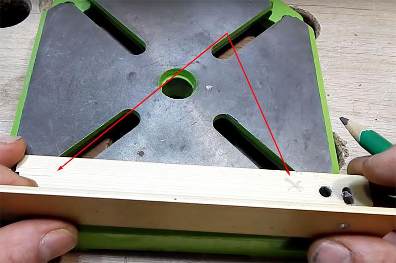 Станок для заточки из ленточной шлифмашины