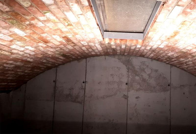 #Лучшедома Кладём арочный потолок в погребе своими руками