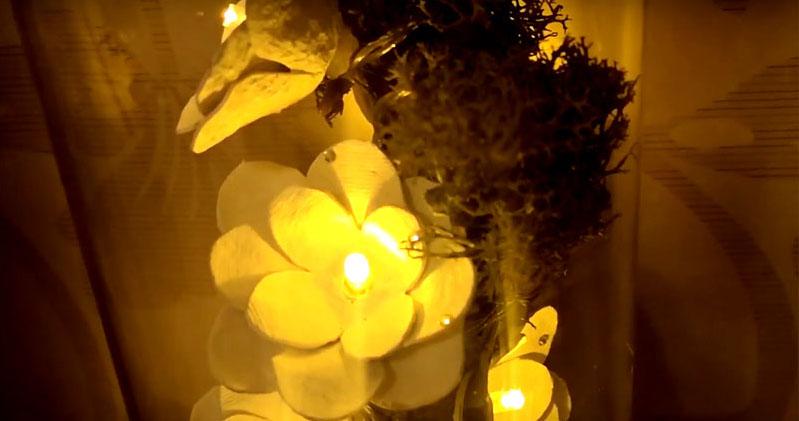 А ночью с его помощью вы можете создать атмосферу, полную романтики