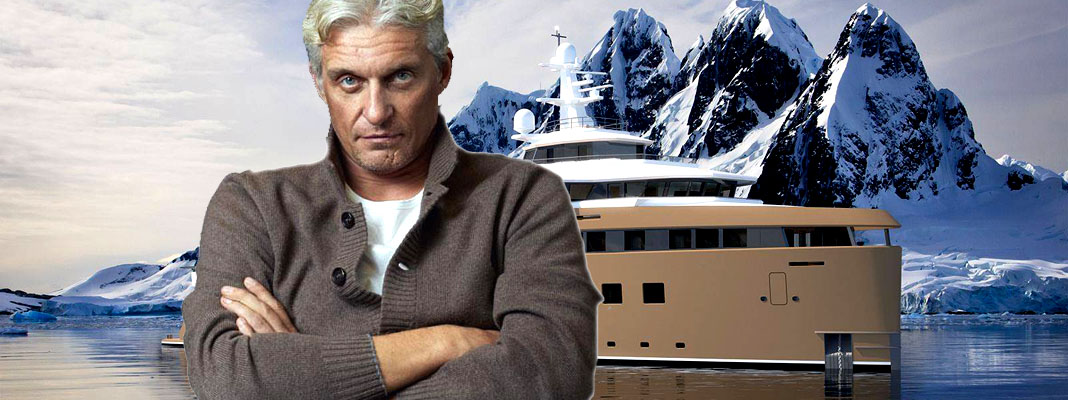 Интерьер яхты скандального миллиардера Олега Тинькова