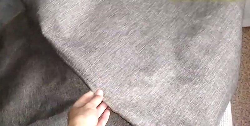 Плотная ткань для чехлов будет значительно практичнее