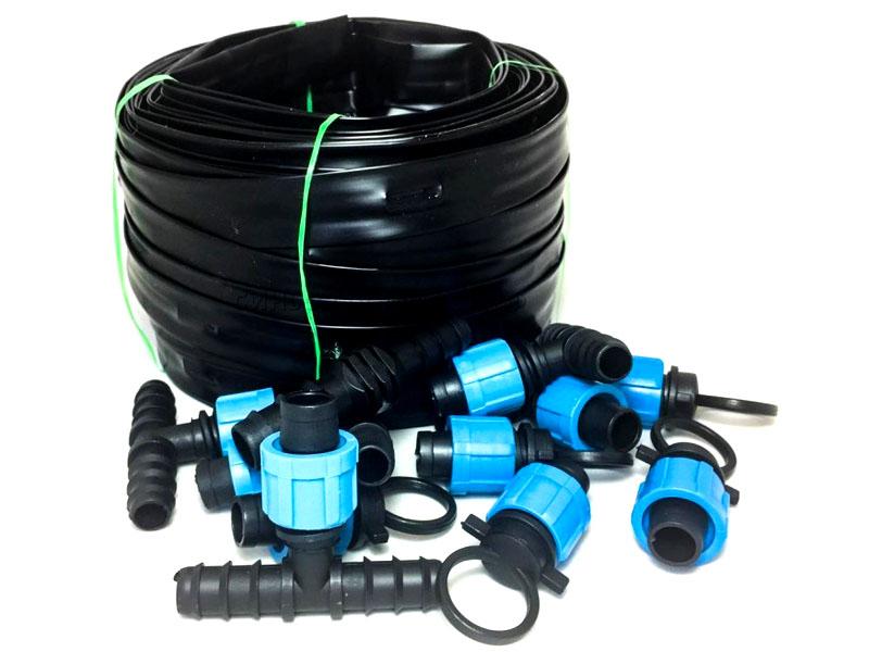 Все компоненты системы полива можно купить в готовом виде, но чтобы сэкономить, вы можете собрать их самостоятельно из отдельных элементов