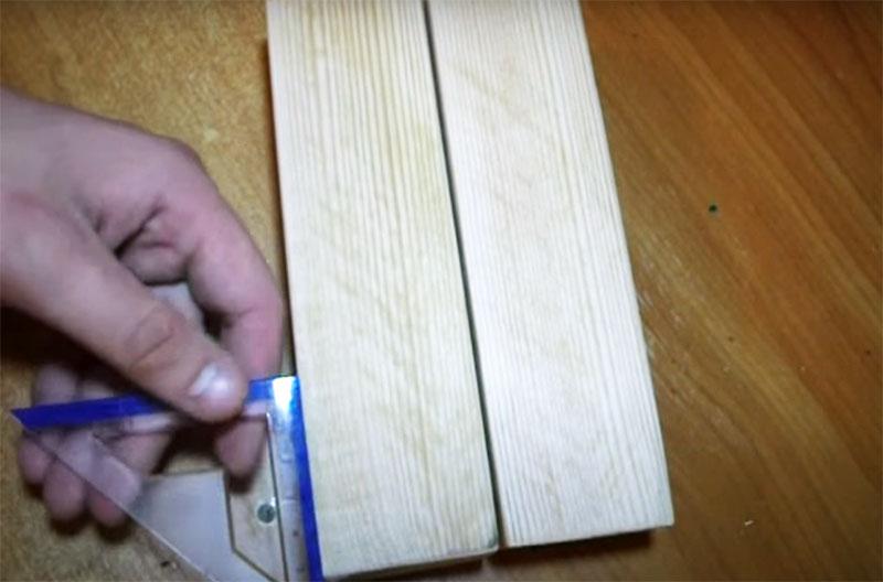 Деревянная струбцина без болтов
