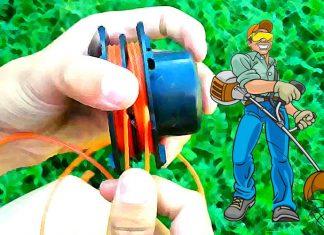 Как намотать леску на триммер