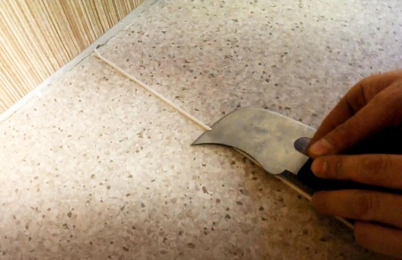 Нож-секатор и обрезка излишков пайки