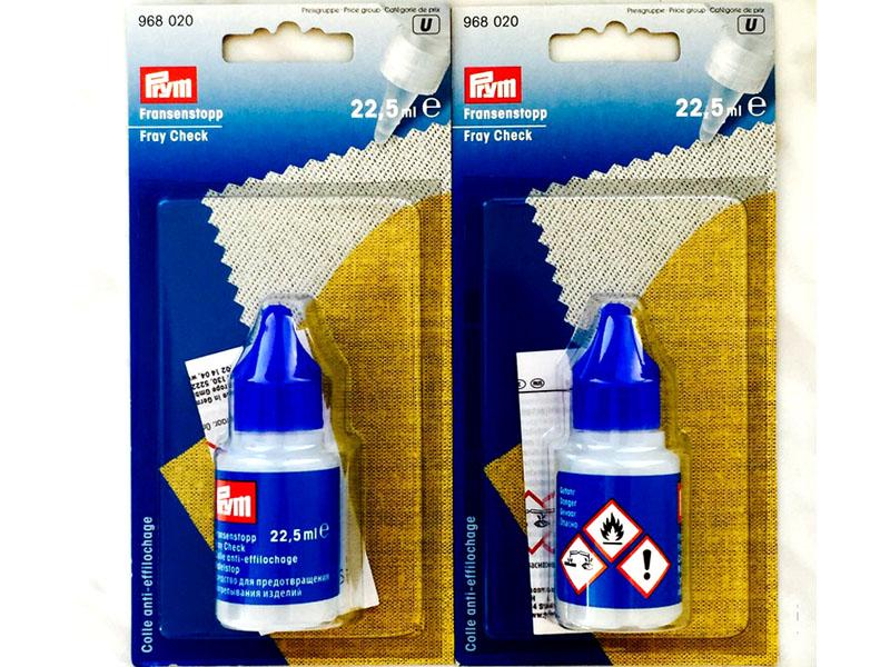 Клей для обработки краёв ткани
