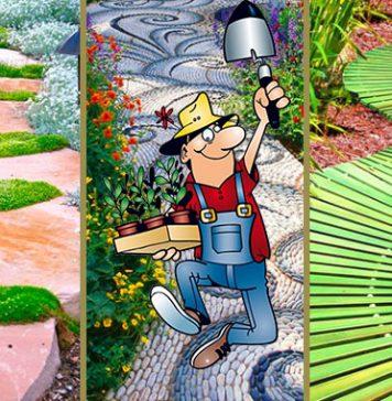 Оформляем садовые дорожки на даче