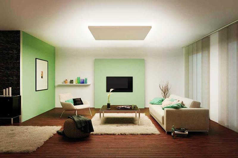 Выберите тот тип освещения, который вам нравится больше всего – это могут быть настенные или напольные лампы, а также тёплый или холодный свет