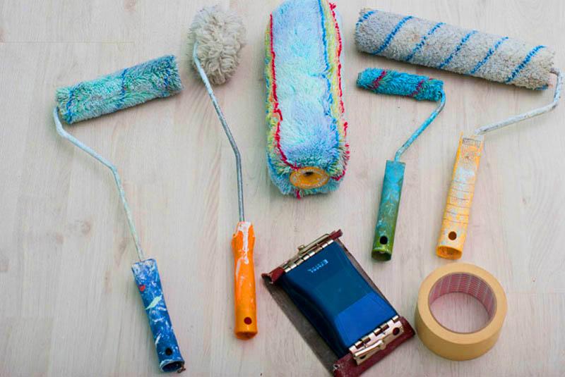 Инструменты для покрасочных работ