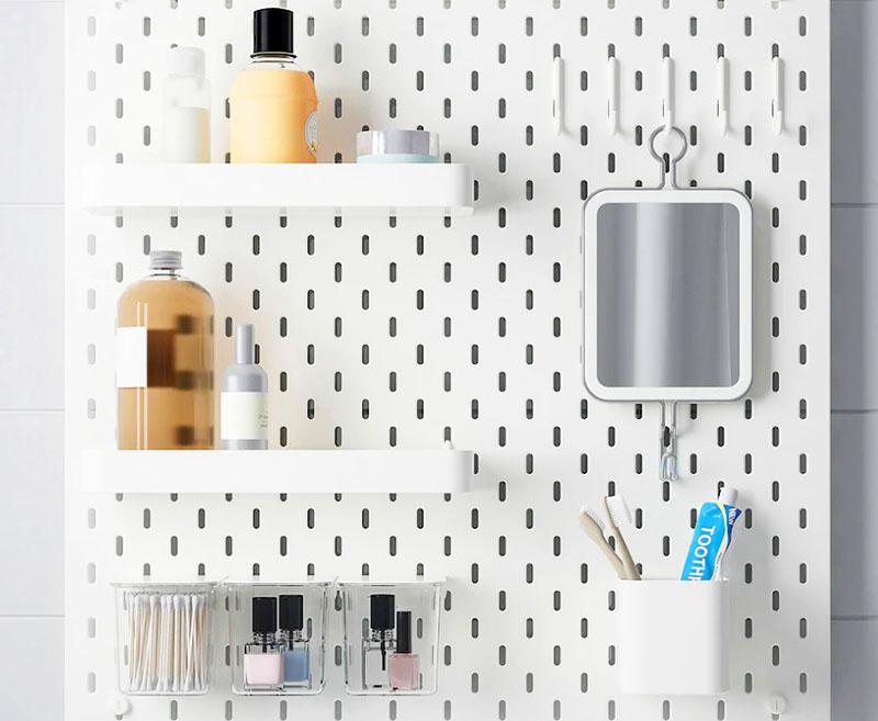 Панель не боится влаги, и её можно использовать на кухне или в ванной комнате