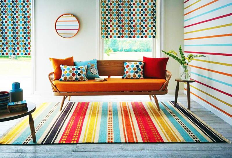 Качественный ковёр имеет чёткий красивый рисунок, яркие цвета и стильный продуманный дизайн