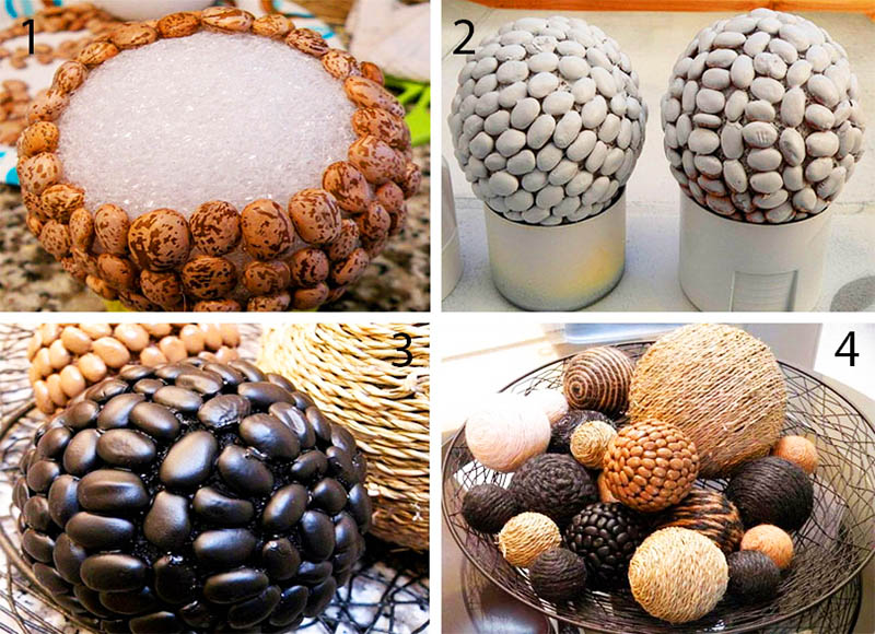 Ультрасовременные идеи декора всего за 30 минут: поделки из крупы для детей и взрослых