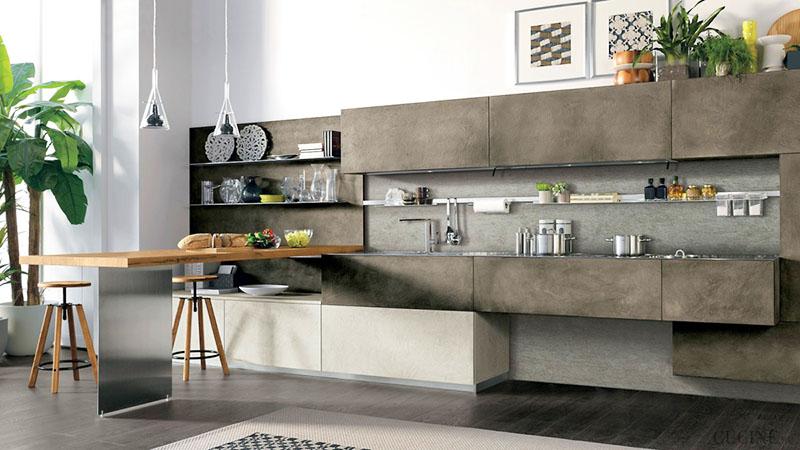 Кухня «Quadra» производства фабрики мебели «Мебиус»