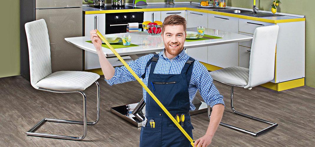 Размер кухонного стола